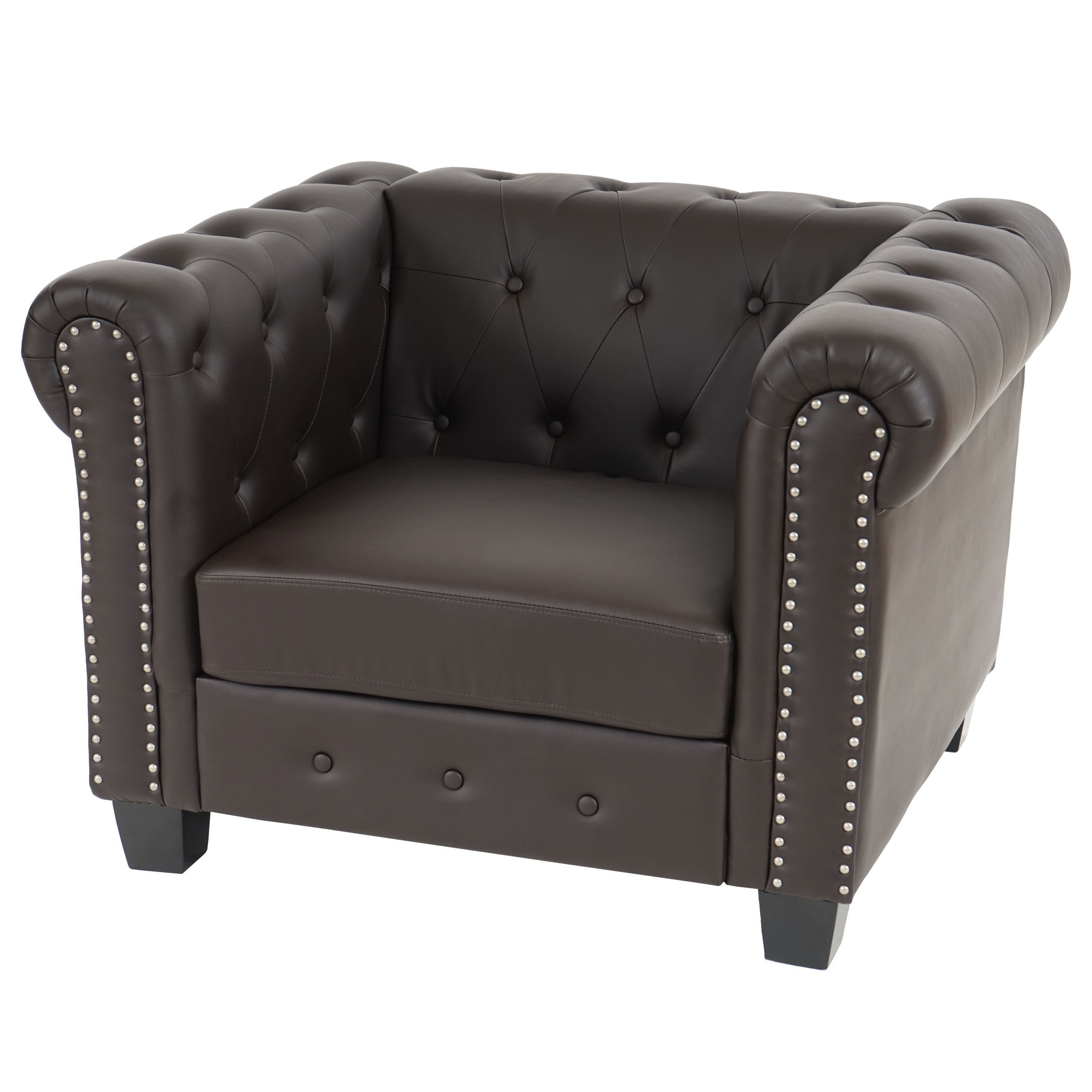 fauteuil style luxe chesterfield noir faut luxechest hw vente de meubles et d 39 articles de. Black Bedroom Furniture Sets. Home Design Ideas