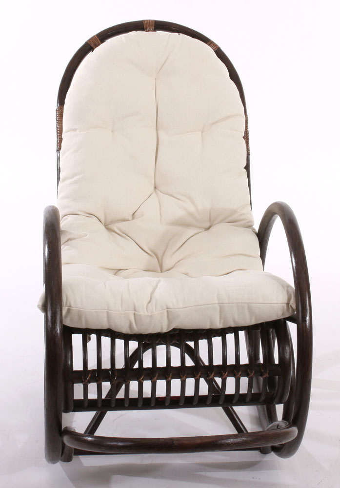 Rocking chair daisy avec coussin microfibre rockgch daisy - Rocking chair confortable ...