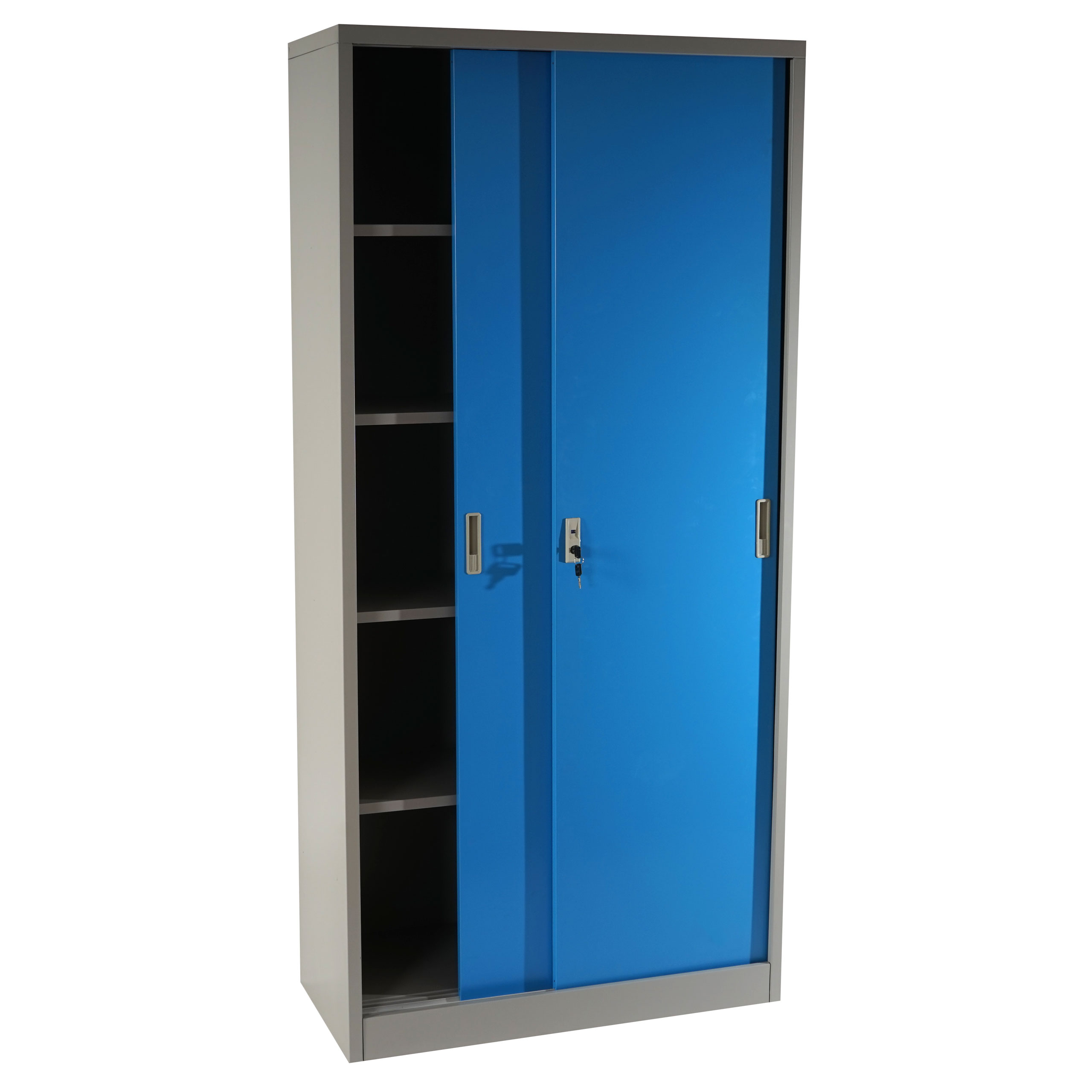 armoire de bureau polyvalente boss disponible en bleu. Black Bedroom Furniture Sets. Home Design Ideas