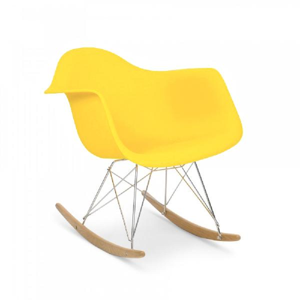 Fauteuil rocking chair eames inspiration plusieurs coloris for Fauteuil eames rocking chair