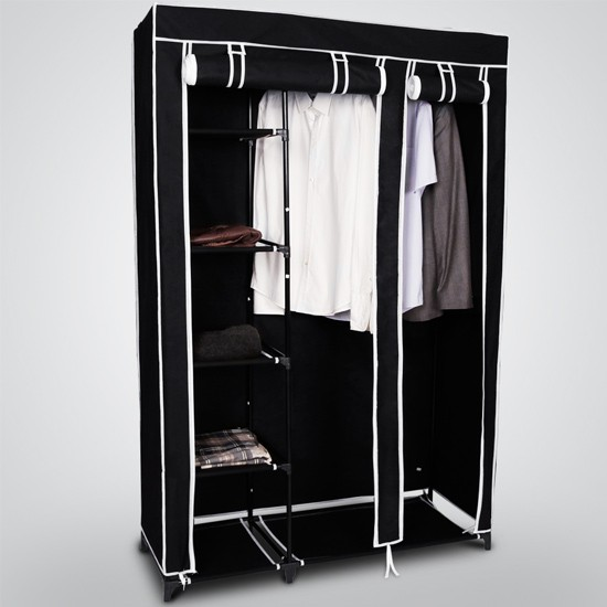 armoire de rangement mobile vetements jgm arm kl1 jg. Black Bedroom Furniture Sets. Home Design Ideas