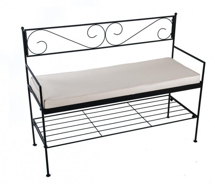 banc de jardin cosy metal fer forge bech banc bech 1hand. Black Bedroom Furniture Sets. Home Design Ideas