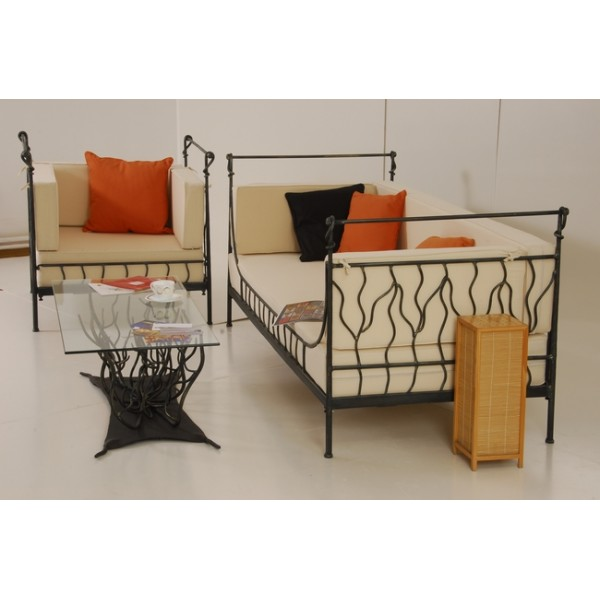 fauteuil fer forge meli fautff meli imd2 vente de. Black Bedroom Furniture Sets. Home Design Ideas