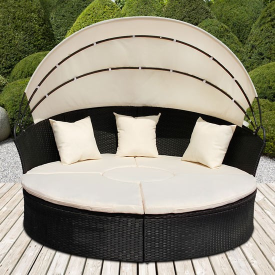lit de jardin design lounge black litjard lounge l03 2 vente de meubles et d 39 articles de. Black Bedroom Furniture Sets. Home Design Ideas
