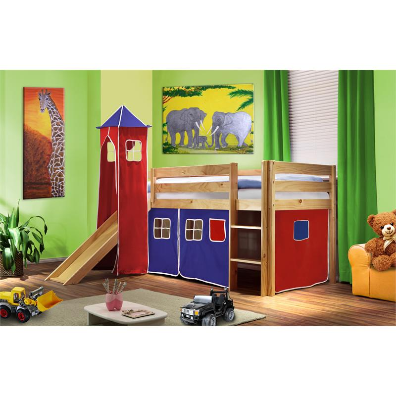 lit supereleve enfant tour avec toboggan litsuper tour 6br vente de meubles et d 39 articles de. Black Bedroom Furniture Sets. Home Design Ideas