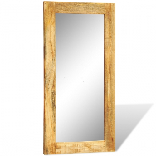 Miroir rectangulaire chene huile viva mirect ch vdx for Miroir allonge
