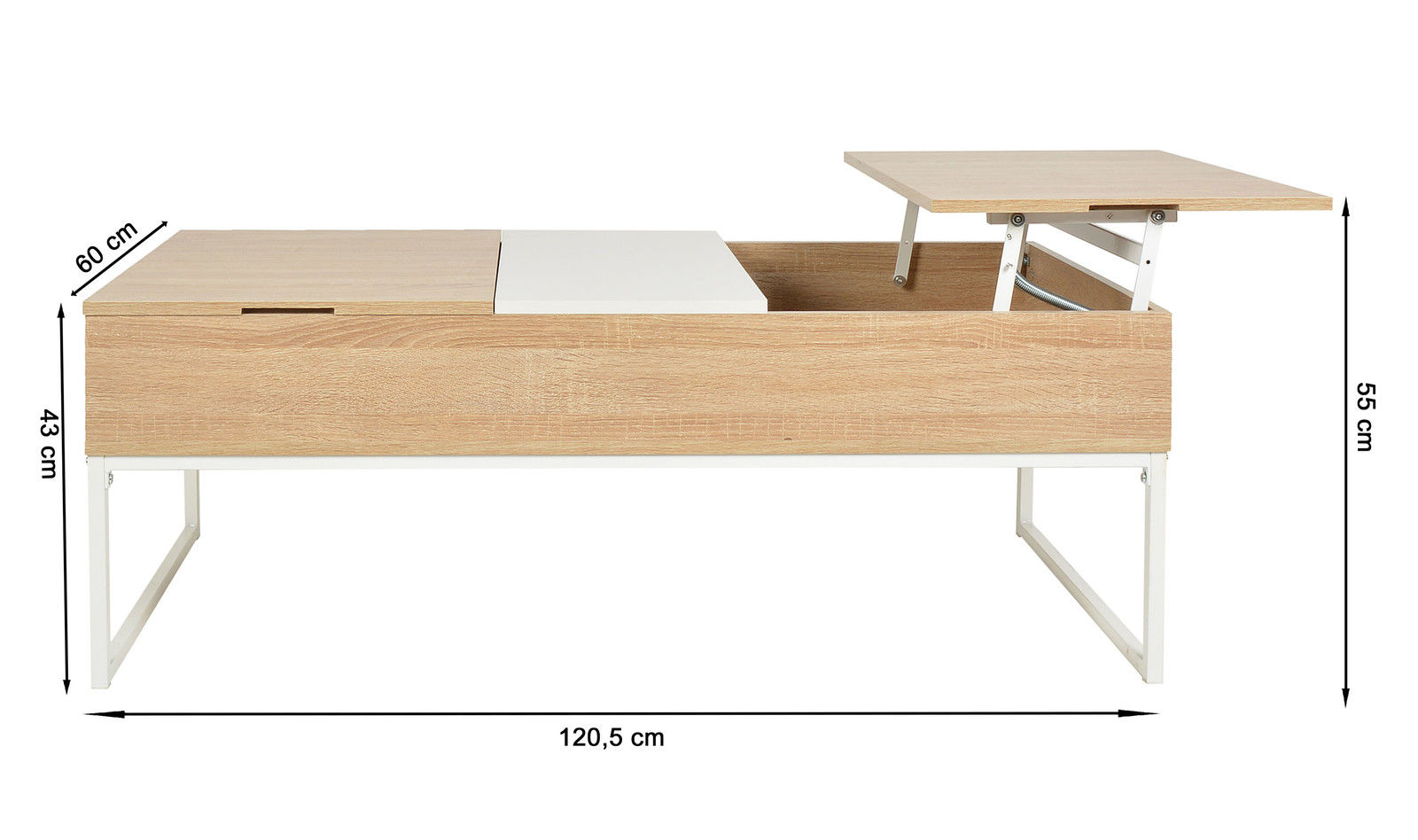 Table basse plateau design for Table basse plateau