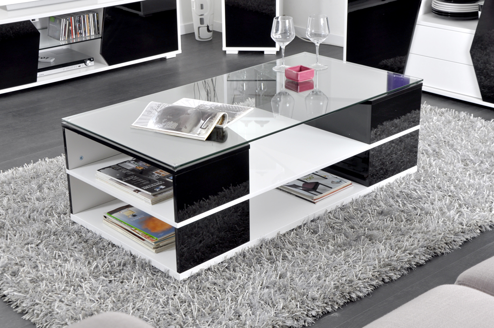 table basse ledo en verre et pietement led. Black Bedroom Furniture Sets. Home Design Ideas