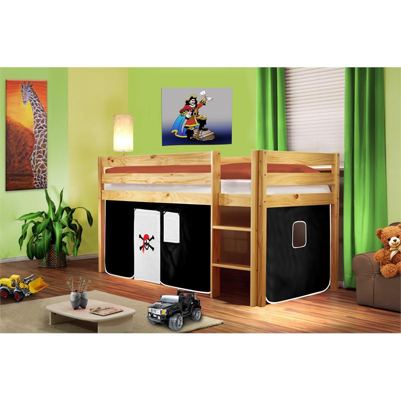 Lit superpose sureleve pirates litsuper pirates 6br vente de meubles et d - Lit superpose pirate ...